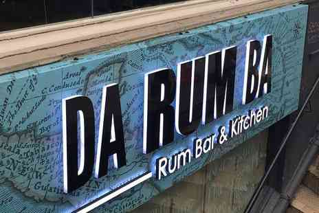 Da Rum Ba - Rum tasting experience for one with nibbles - Save 58%