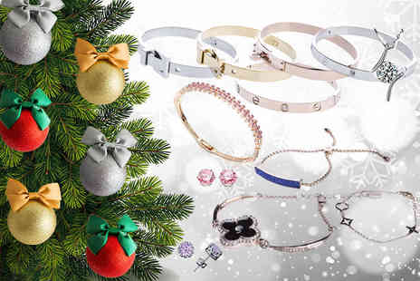 The Watch Supermarket - Set of six luxury Christmas jewellery baubles choose from three colours - Save 86%