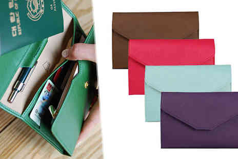 Fakurma UK - Travel Document Organiser in 5 Colours - Save 83%