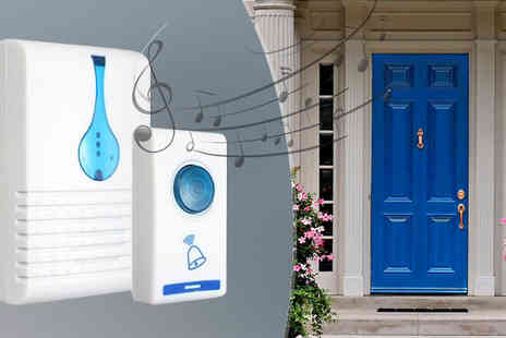 Fakurma UK - Twin Cordless Doorbells - Save 83%