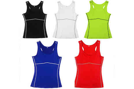 Orchid Deal - Womens Athletic Sport Vest in 5 Colours - Save 0%