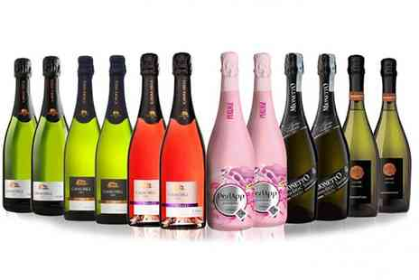 IBERVILLA FINE FOODS SAN JAMON - 12 Bottle Mixed Case of Prosecco, Cava and Sparkling Wine With Free Delivery - Save 0%
