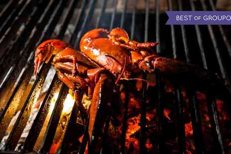 The Crazy Bear - Mixed Seafood Platter and Premium Champagne - Save 57%