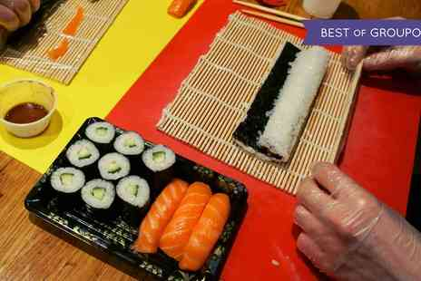 Suzu Japanese Tapas Bar - Two Hour Sushi Class with an Optional Cookbook for One or Two - Save 57%