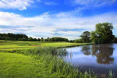 Oulton Hall Hotel - 18 Holes Golf with One Golf Sleeve for Two or Two Sleeves for Four - Save 0%