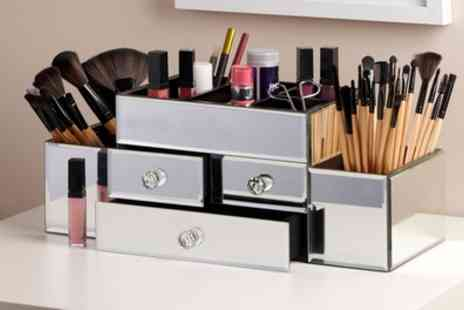 Groupon Goods Global GmbH - Cosmetic Cases with 32 Piece Brush Set - Save 50%