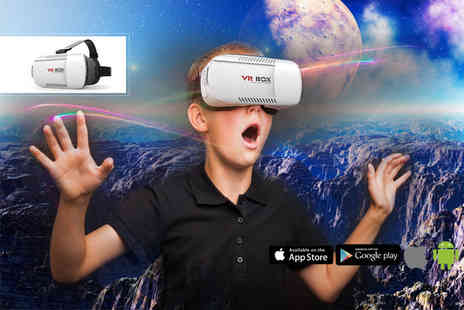 Partikle - Immersive Virtual Reality Headset - Save 74%