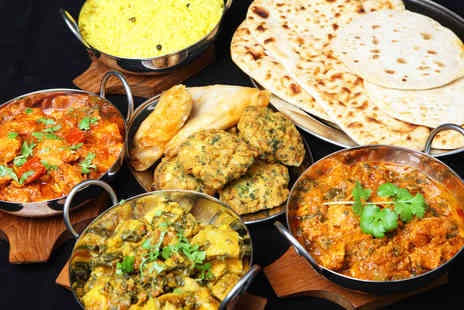 Taste Indian Cuisine - All you can eat five course Indian buffet for two - Save 53%