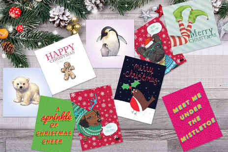 Choosey - 10 personalised greeting cards - Save 77%
