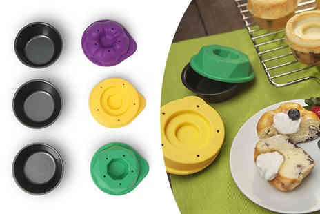 2tech - Six silicone bake shapes - Save 62%