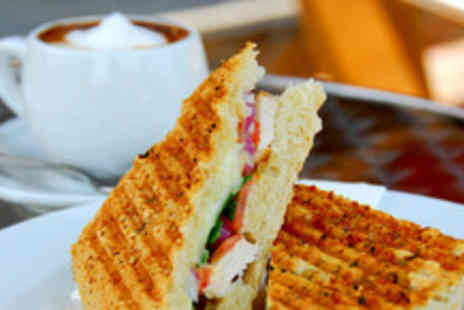The Exchange - Coffee and Paninis for 2 - Save 58%