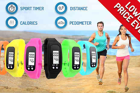 Black Sheep - 4 in 1 Fitness Activity Tracking Watch - Save 67%