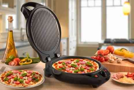 Groupon Goods Global GmbH - Cooks Professional Multi Functional Pizza Maker and Grill With Free Delivery - Save 57%