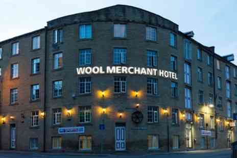 Wool Merchant Hotel - One to Three Nights Stay for Two with Breakfast, Wine with Option for Dinner and Bottomless Drinks - Save 0%