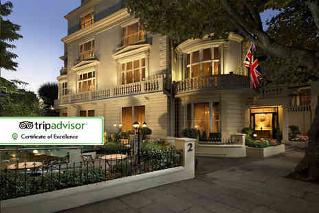 The Colonnade Hotel - Four Star overnight London stay for two with breakfast or include dinner with wine - Save 0%