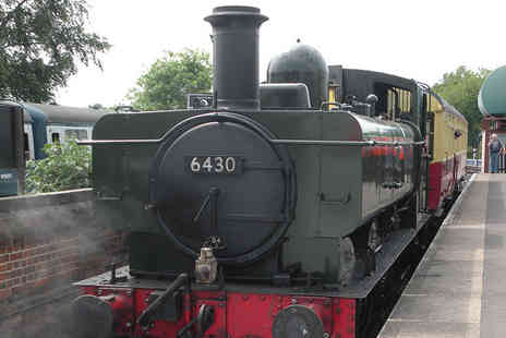 Epping Ongar Railway - Two or family tickets for the Epping Ongar Railway steam train - Save 50%