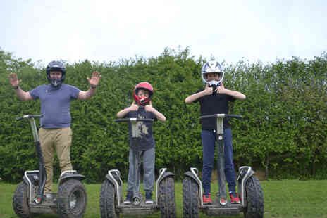 Segway Unleashed - Off road Segway experience for one, two or four - Save 65%