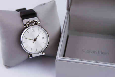 Brand Logic - Mens Calvin Klein watch choose from eight designs - Save 61%