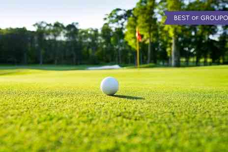 The Westerwood Hotel & Spa - 18 Holes of Golf Plus Titleist Golf Sleeve for Two or Four - Save 0%
