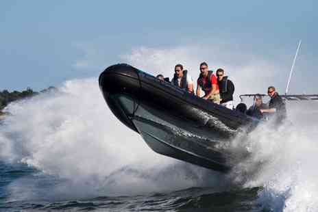 Seadogz Rib Charter - 60 Minute or 90 Minute Extreme RIB Ride for One, Two or Four - Save 60%