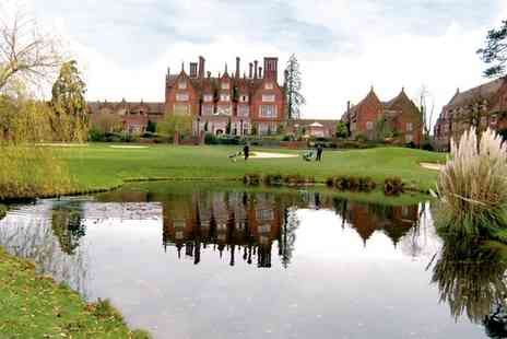 Dunston Hall - 18 Holes of Golf Plus Titleist Golf Sleeve for Two or Four - Save 0%