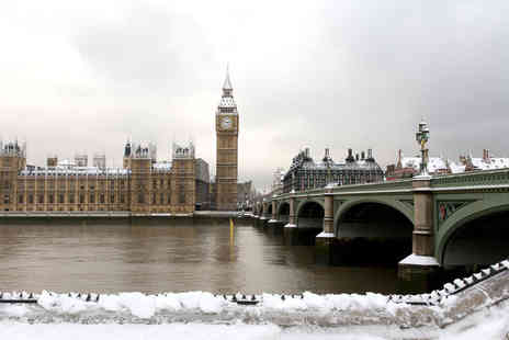 Out on the Thames - Ticket to a Let It Snow Christmas Thames cruise - Save 50%