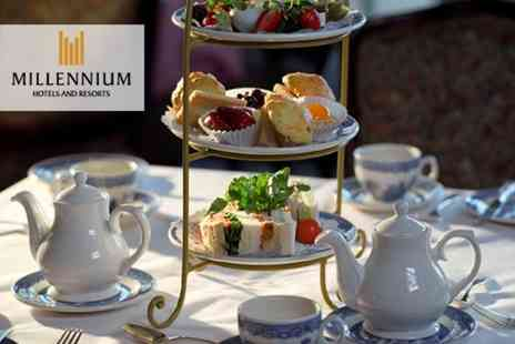 Millennium Hotel Glasgow - Afternoon tea for two people - Save 50%