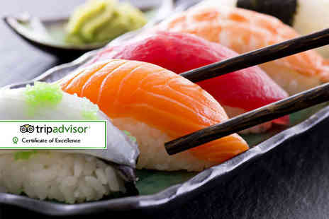 Sakushi - £25 voucher to spend towards dining and drinks for two people - Save 52%