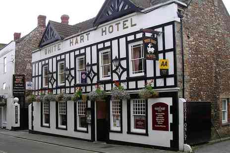 The White Hart Hotel - Five Course Tasting Menu for Two or Four - Save 57%
