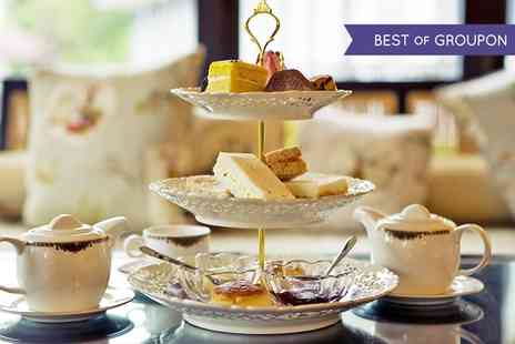 Hawkwell House Hotel - Sparkling Afternoon Tea for Two or Four - Save 34%