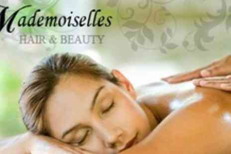 Mademoiselles Hair and Beauty - One Hour Swedish or Aromatherapy Massage For One - Save 60%