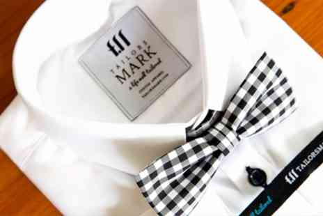 Tailors Mark - Tailored Shirt Worth £69 to Spend With Free Monogram - Save 64%