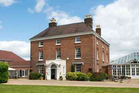 Hadley Park House Hotel - One or two Nights Stay for Two with Breakfast and Optional Wine and AA Rosette Dinner - Save 37%