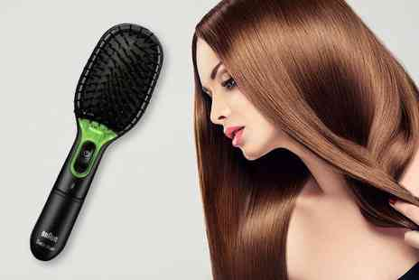 Chemist 4 U - Braun Satin iontec hair brush - Save 49%