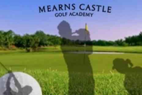 Mearns Castle Golf Academy - 18 Holes of Golf For Two - Save 63%
