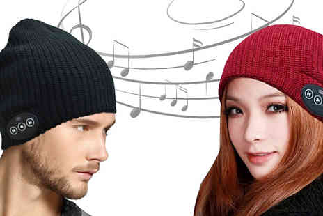 Home Decor Online - Bluetooth Audio Beanie Hat Two Colours - Save 67%