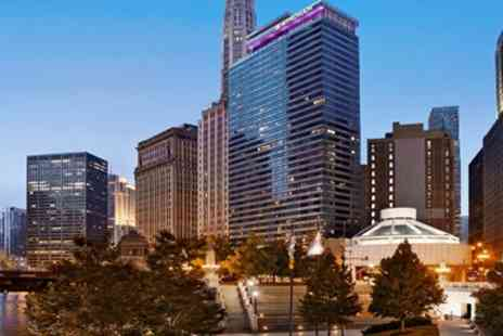 Wyndham Grand Chicago Riverfront - Four Star Chicago Riverfront Hotel with Breakfast through March - Save 0%
