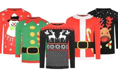 Groupon Goods Global GmbH - Unisex Christmas Jumpers - Save 0%