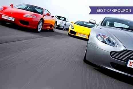 Everyman Racing - Driving Experience in Up to Four Supercars  - Save 0%