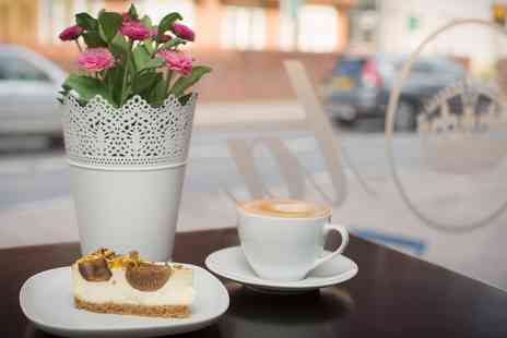 Bistro Viola - Hot Drink and Cake for Two or Four - Save 53%