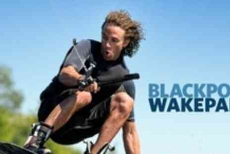 Blackpool Wake Park - Two Hour Introductory Wakeboarding Lesson For Two - Save 63%