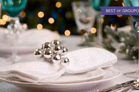 Hilton Bath City - Three Course Meal Christmas Party with Optional Bottle of Wine - Save 58%