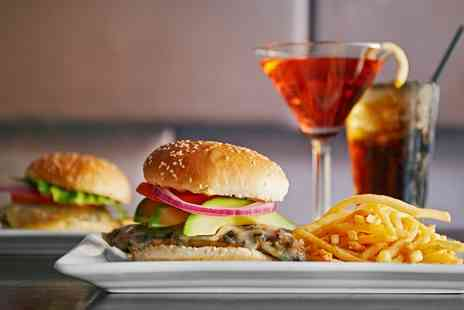 Hannahs Bistro - Burger and Cocktail for Two or Four - Save 0%