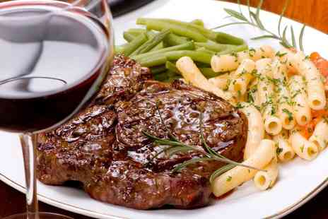 Marcellos Restaurant - Steak Meal with Wine for Two or Four - Save 0%