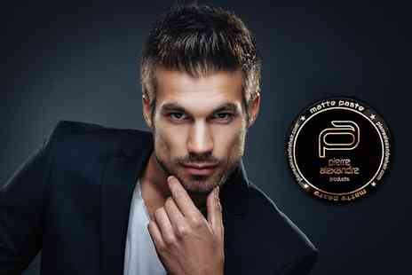 Pierre Alexandre Aesthetics - Mens Cut and Finish with a Styling Product - Save 60%
