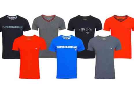Groupon Goods Global GmbH - EA7 Emporio Armani TShirts With Free Delivery - Save 0%