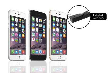 ClickWrap - 16GB Apple iPhone 6, £329 for 64GB select from three colours Plus get a twisted powerbank - Save 46%