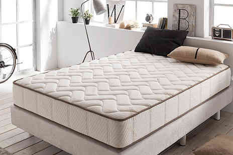 Easy Gifts - Single, double or king size visco cashmere mattress - Save 87%