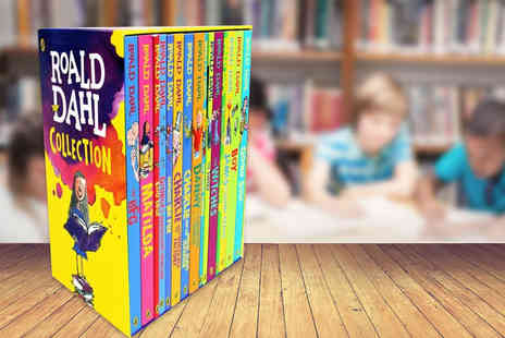 Price Cut Books - 15 book Roald Dahl complete collection box set - Save 74%
