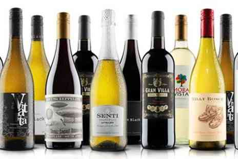 Virgin Wines Online - 12 Bottles of Wine including Bubbly - Save 63%